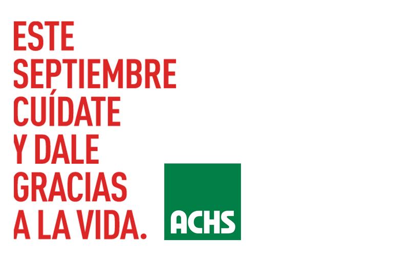 Campaña preventiva ACHS fiestas patrias